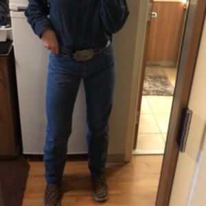 Wrangler vintage high waisted jeans